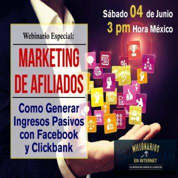 Webinario Ganar Dinero Con Facebook Y Clickbank